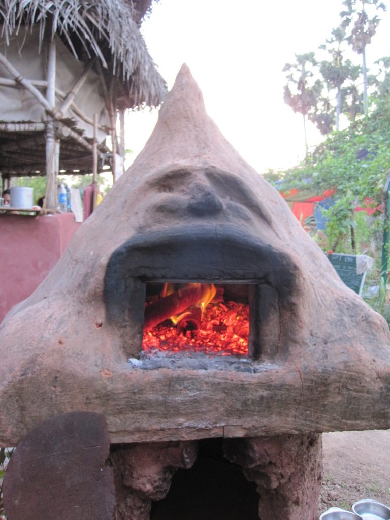 unique face wood-fired-oven