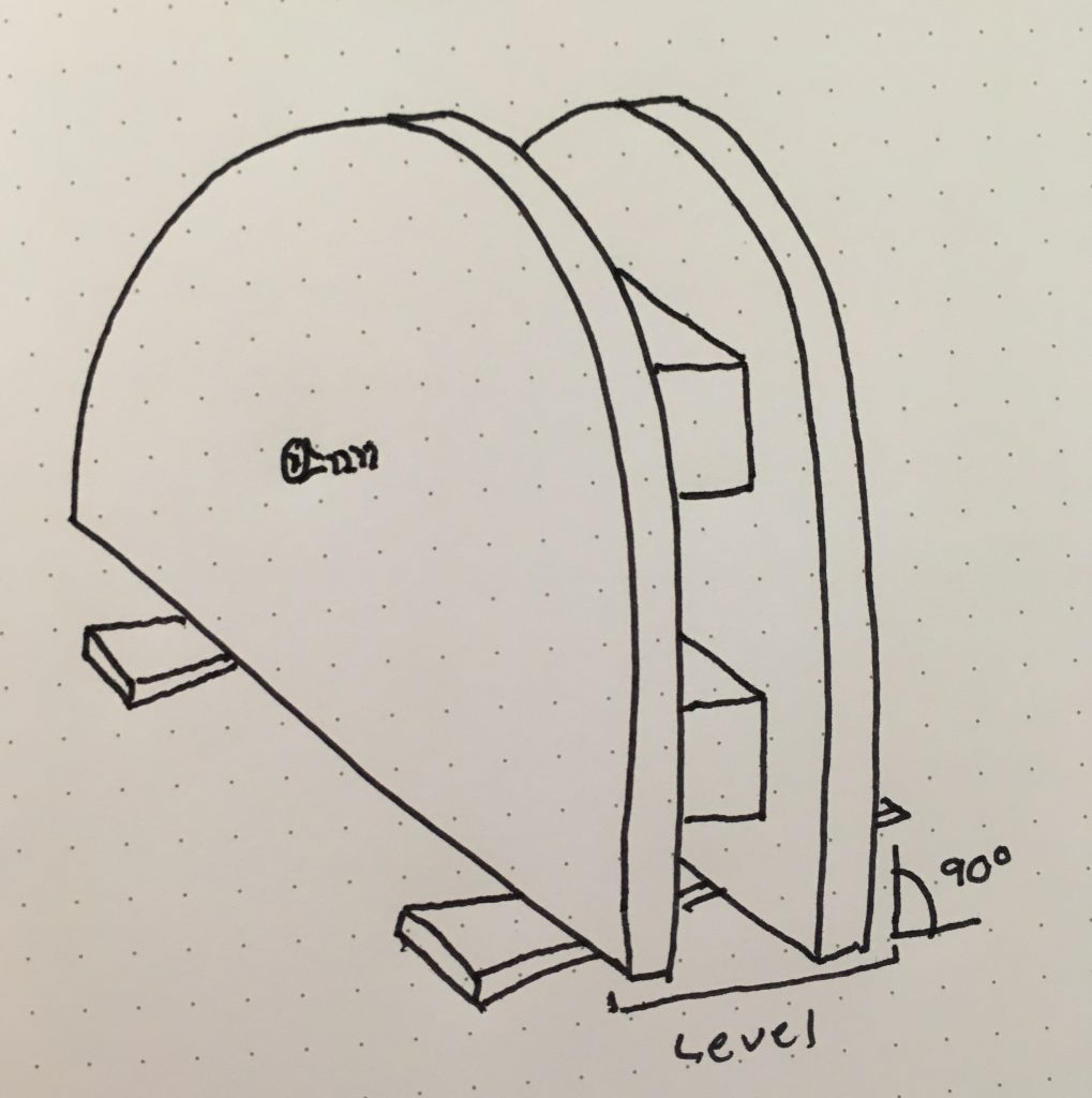 door form drawing